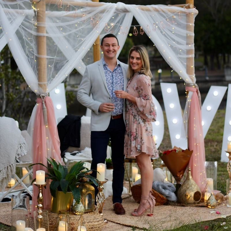The Perfect Romantic Engagement Proposal in Brisbane
